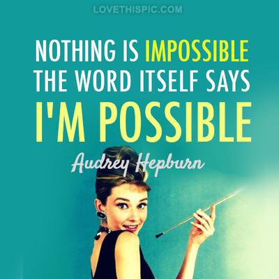 Audrey Quote