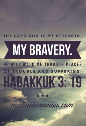 my bravery