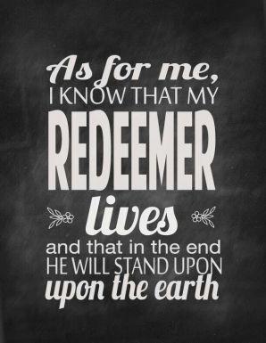 My Redeemer