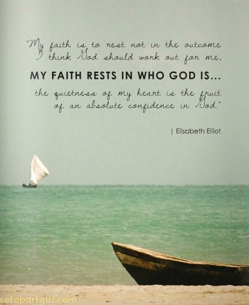 My Faith Rests